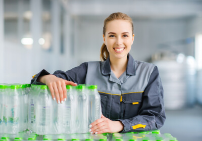 female worker at the factory